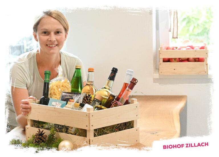 Köstliches Weihnachtskisterl vom Biohof Zillach
